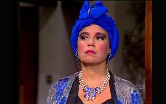 Regina Duarte quando interpretou uma ex-prostituta na Globo