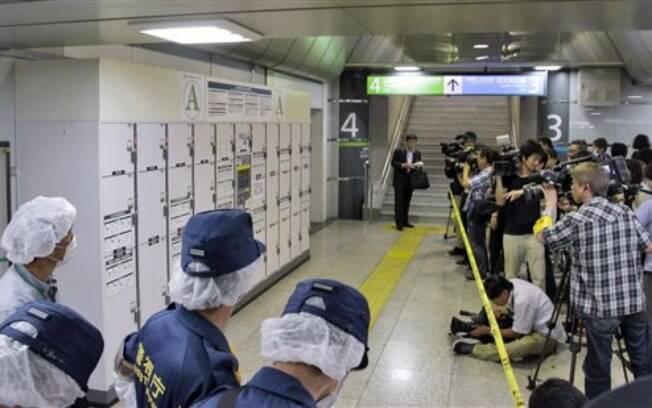 O corpo de uma idosa foi encontrado dentro de uma mala na estação ferroviária