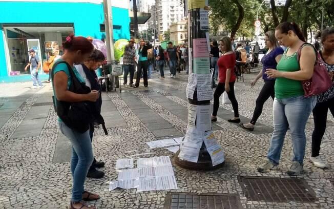 Desemprego no Brasil atinge 12,5 milhões, sendo que um em cada quatro está a procura de trabalho desde 2016