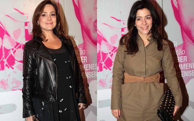 Gabriela Duarte e Marina Person na plateia de