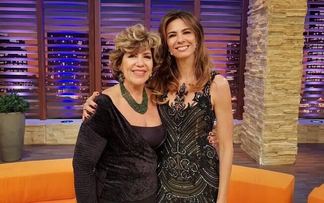 Silvia Poppovic é a entrevistada de Luciana Gimenez nesta terça-feira (3), no 'Luciana By Night', na RedeTV!