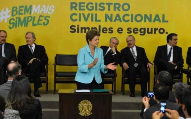Presidente encaminha ao Congresso Nacional projeto de lei que institui o Registro Civil Nacional