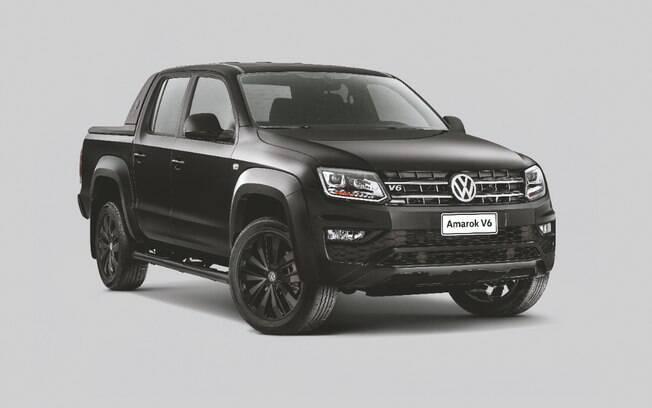 Volkswagen Amarok V6 volta a ser a picape média a diesel mais potente do Brasil, importada da Argentina