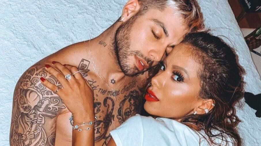 Gui Araújo e Anitta namoraram durante a quarentena