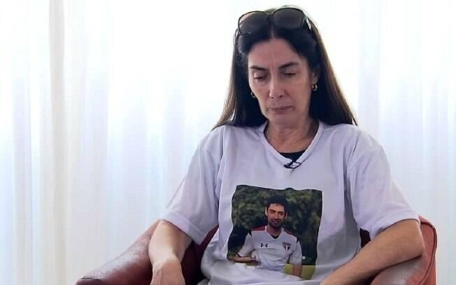 Caso Daniel: Eliana Corrêa, mãe do jogador assassinado