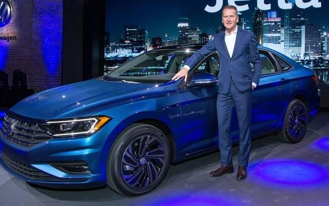 Confirmado para o Brasil, o Volkswagen Jetta é a grande atração da marca para o Salão de Detroit