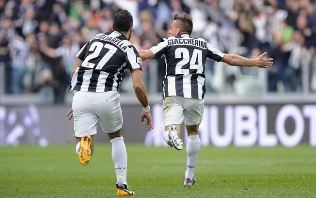Gol de Giaccherini foi marcado nos acréscimos  e deixa a Juventus com nove pontos de vantagem na  liderança do Italiano