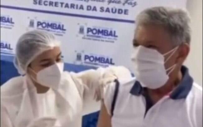 prefeito vacina