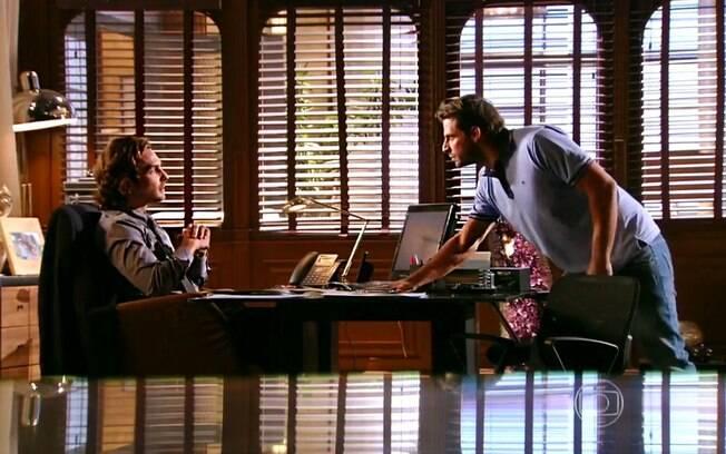 Cassiano ameaça Alberto em