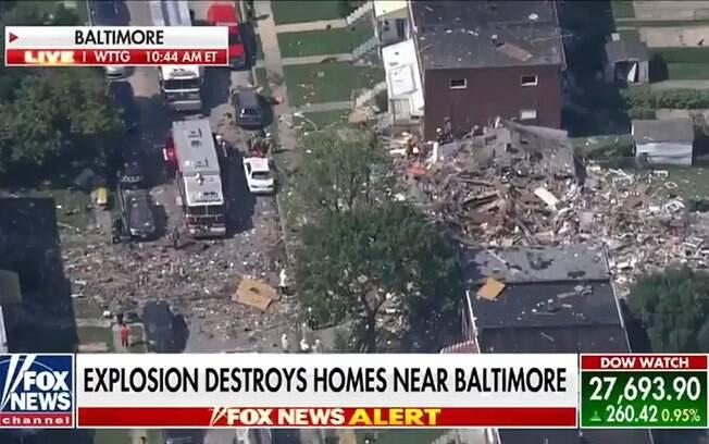Explosão foi causada por vazamento de gás