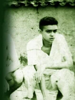 Chico Anysio aos 18 anos de idade, em 1949