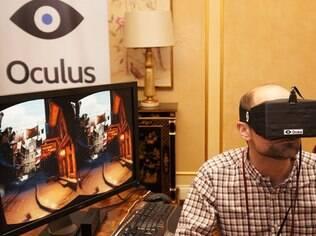Oculus Rift tem chamado atenção em feiras de tecnologia