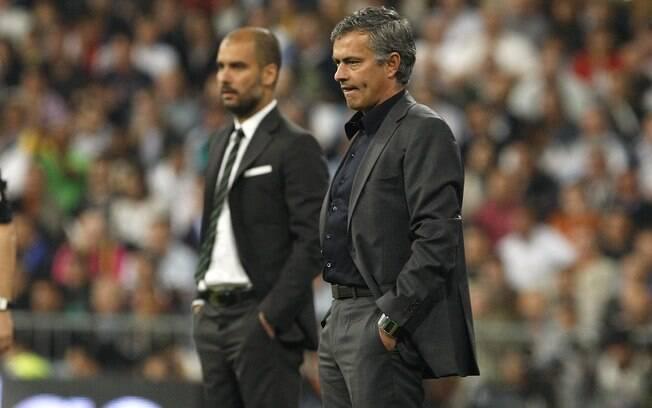 José Mourinho e Joseph Guardiola