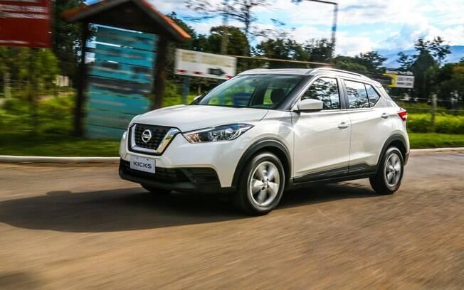 Nissan Kicks chega mais equipado à linha 2020 para aumentar a competitividade entre os SUVs compactos