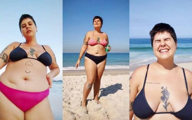 Luiza Junqueira também descobriu que a melhor de forma de como ter um corpo de praia é aceitando nosso corpo