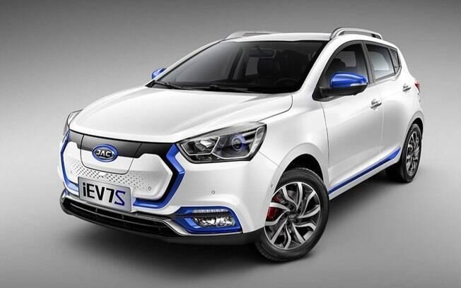 A JAC Motors desenvolveu um T40 elétrico como estudo para o mercado chinês, resultado de uma parceria com a Volkswagen