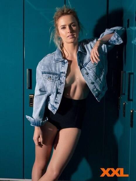 Tenista ucraniana Elina Svitolina posou para fotos bem picantes na revista XXL, do seu país