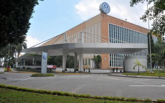Fachada da fábrica na Volkswagen em São Bernardo do Campo (SP)