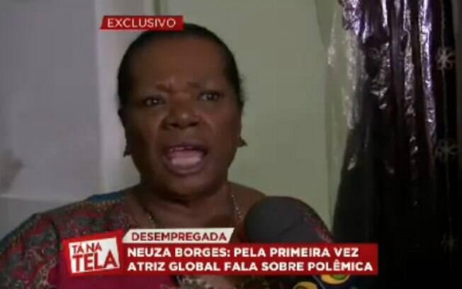 Neuza Borges, aos 73 anos, sobrevive como vendedora em um brechó em Salvador