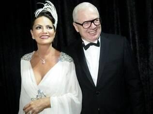 Luzia Brunet e o namorado, Lírio Parisotto