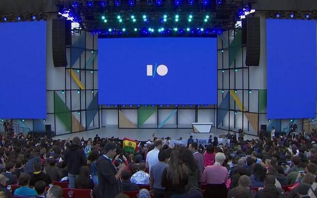 Conferência anual para desenvolvedores, Google I/O 2018, começou nesta terça-feira (8) no Shoreline Amphitheatre, na sede da empresa na Califórnia