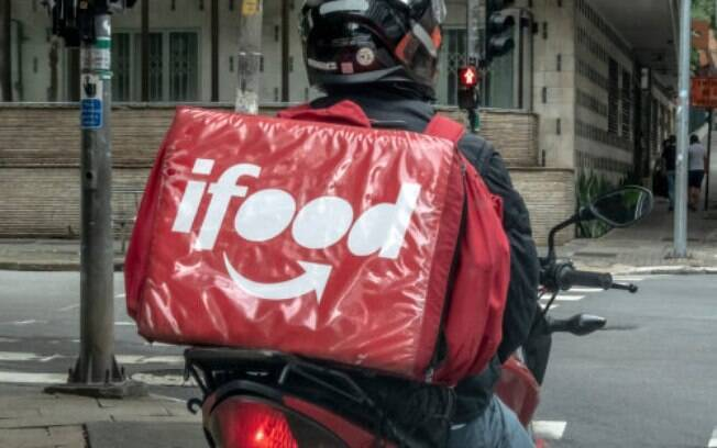 entregador do ifood