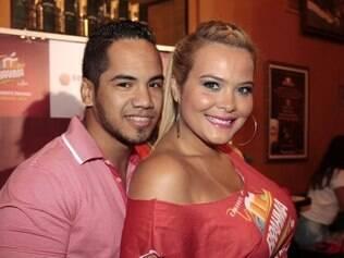 Geisy Arruda e o ex-namorado, o empresário Ricardo de Souza