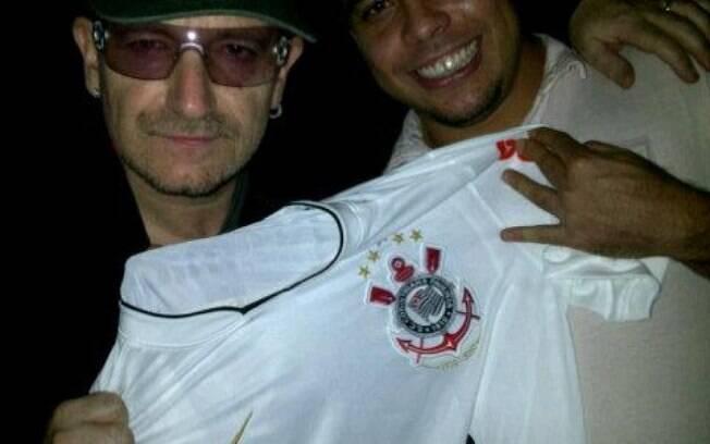 Ronaldo e Bono Vox