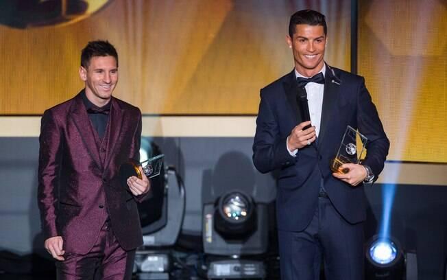 Cristiano Ronaldo acredita que merece mais Bolas de Ouro do que Messi