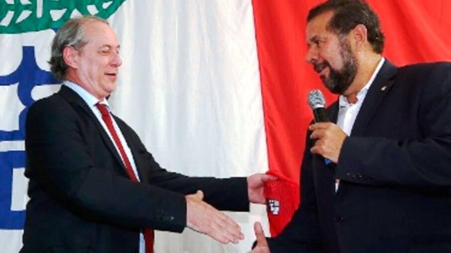 Ciro Gomes e Carlos Lupi