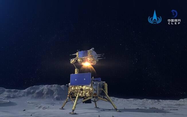 Módulo retornou com mais de 2kg de rocha lunar