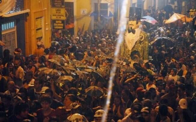 Carnaval será chuvoso