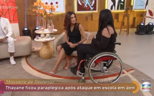 Fátima Bernardes dedica o