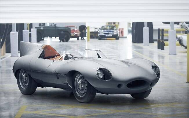 Jaguar D-Type: Sua volta vem para saudar o campeão britânico raiz das pistas de corrida