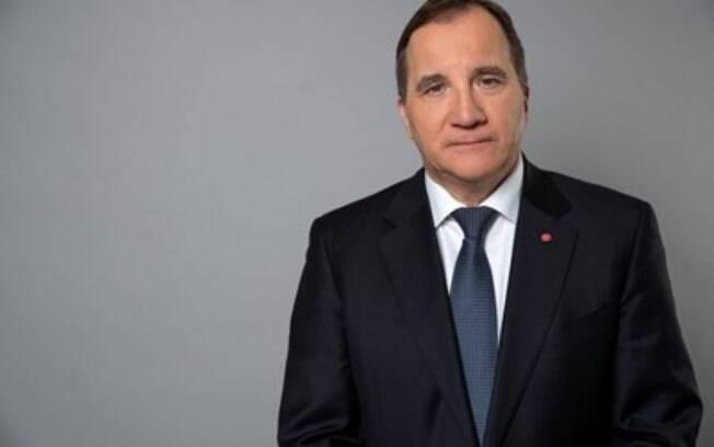 Mesmo com medidas suaves, o primeiro-ministro da Suécia, Stefan Löfven, ganhou popularidade diante do trabalho de combate à pandemia