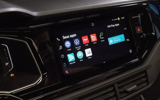 VW Nivus tem a nova central multimídia entre os principais atrativos. Mas logo o equipamento será usado em outros modelos da marca