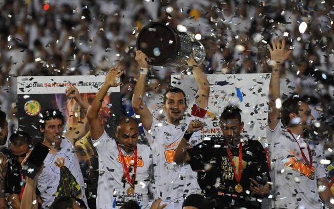 Santos foi campeão da Libertadores em 2011