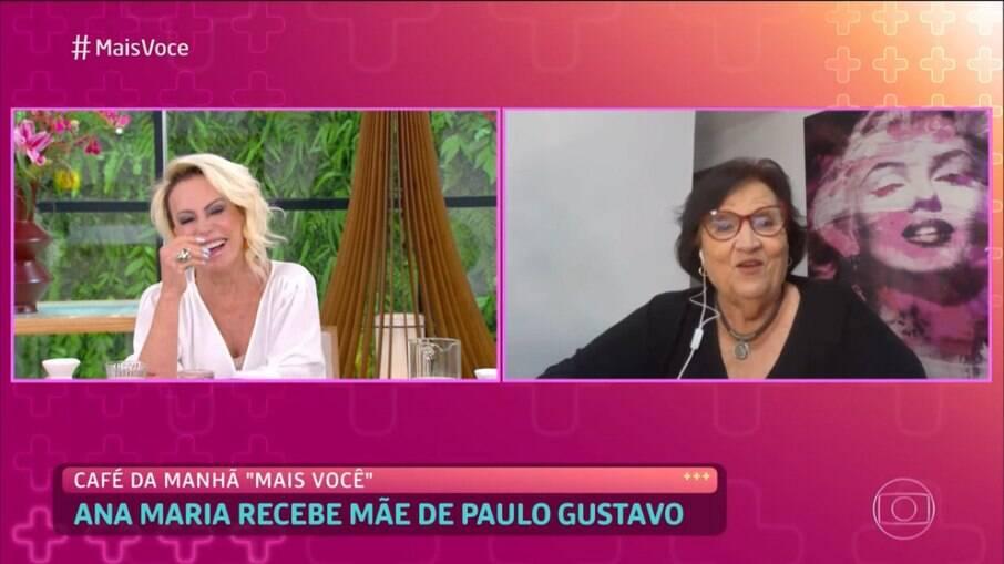 Mãe de Paulo Gustavo participa do