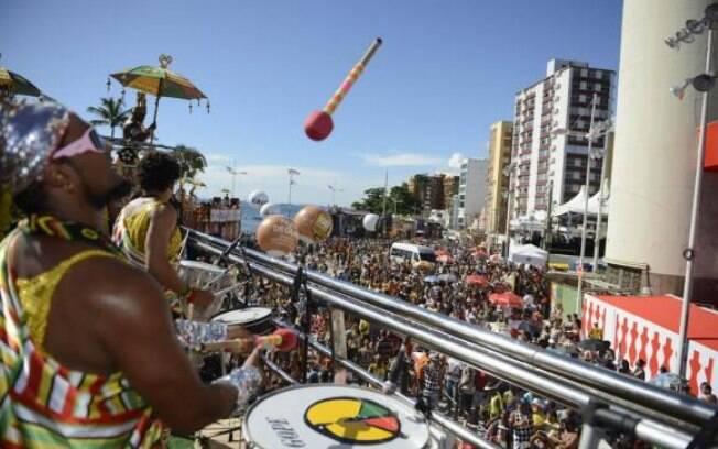 Olodum no carnaval da Bahia