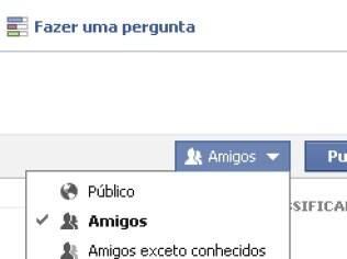 Facebook tem controle de privacidade individual para mensagens publicadas na rede social