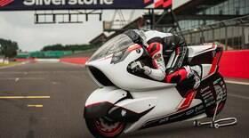 Moto elétrica vai bater recorde de velocidade em 2022