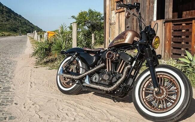 Harley-Davidson finalista do concurso será exposta no Salão de Milão (Itália), entre os dias 6 e 11 de novembro