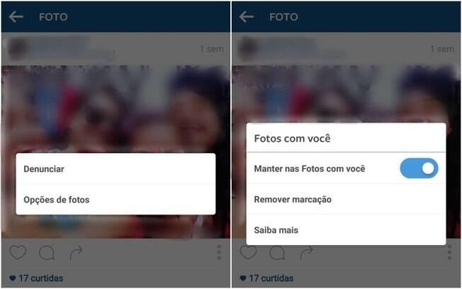 Usuário pode remover marcação em fotos antigas e escolher se elas serão exibidas no perfil