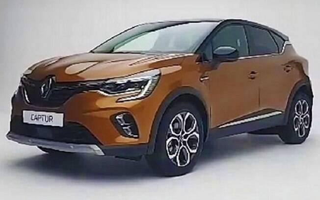 Primeira imagem vazada Renault Captur da nova geração mostra que a fabricante fez um bom trabalho no SUV