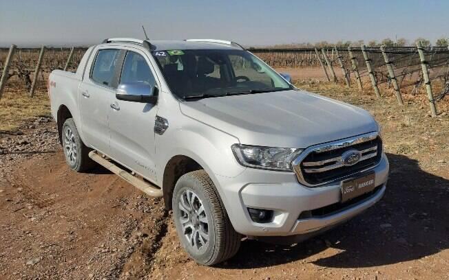 Nova Ford Ranger mudanças que caracterizam o segundo facelift da terceira geração