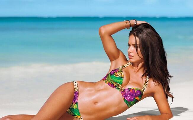Adriana Lima é uma das Victoria Secret's Angels com mais tempo na marca de lingeries