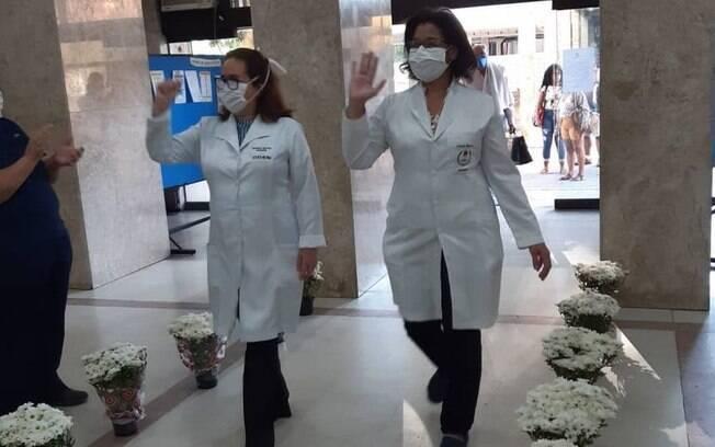 Enfermeiras no Rio de Janeiro