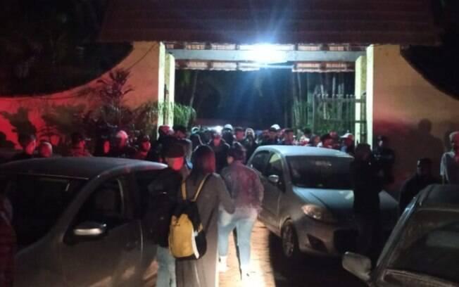 PM dispersa baile funk em chácara de Jaguariúna