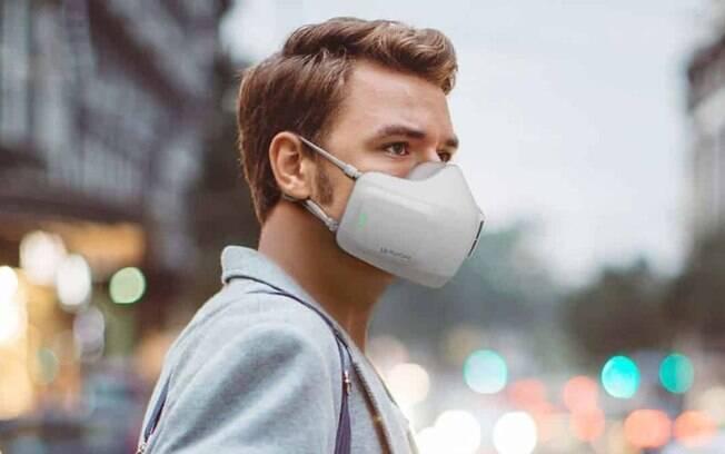 Máscara da LG é capaz de purificar o ar