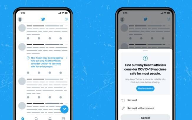 Twitter vai banir quem postar mais de cinco fake news sobre COVID-19